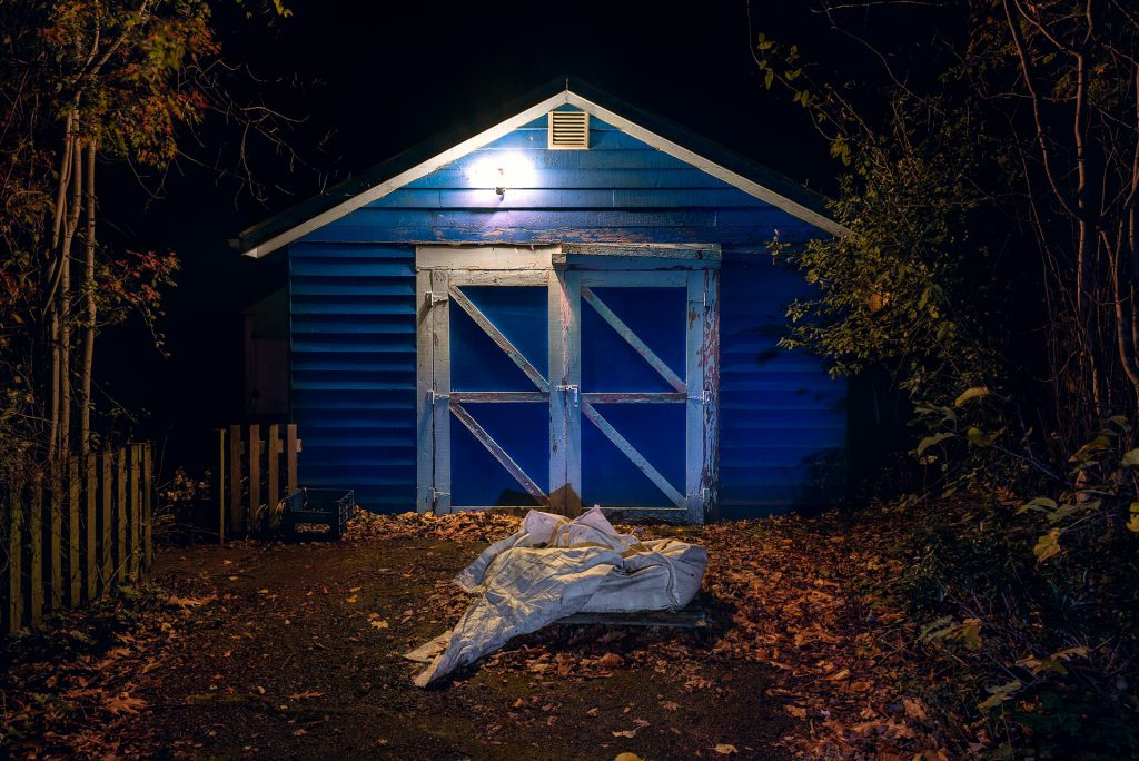 The Shed, Bellingham at Night