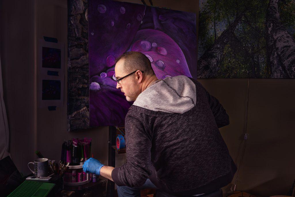 Kevin Coleman, artist