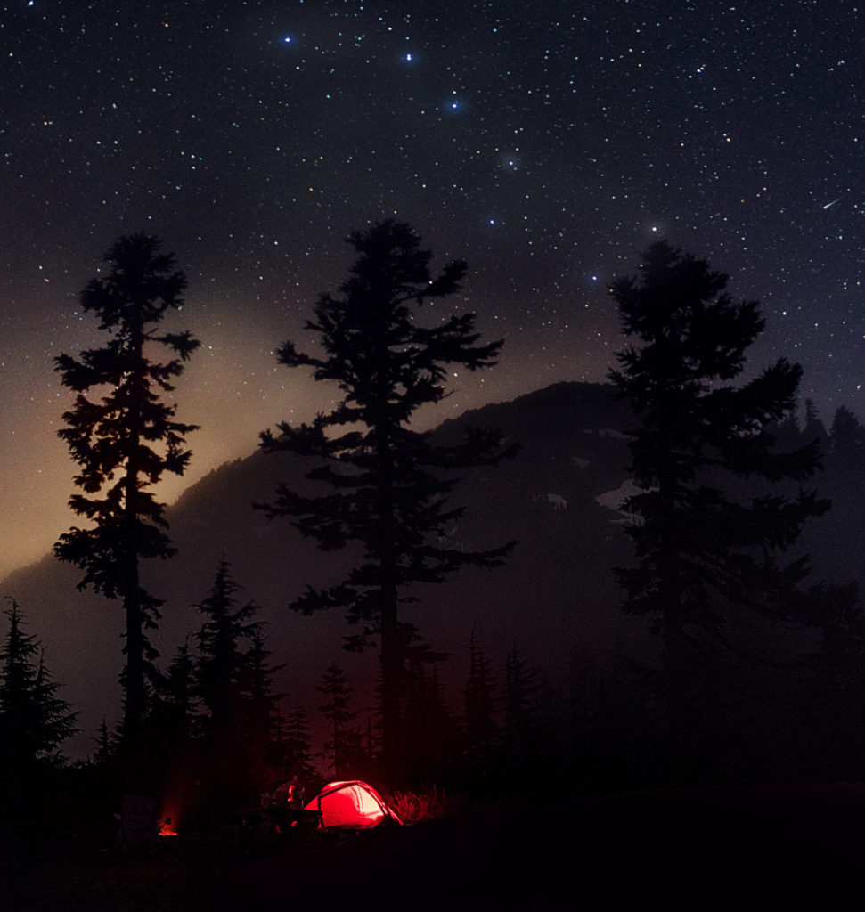 Camping Below the Big Dipper, North Cascades