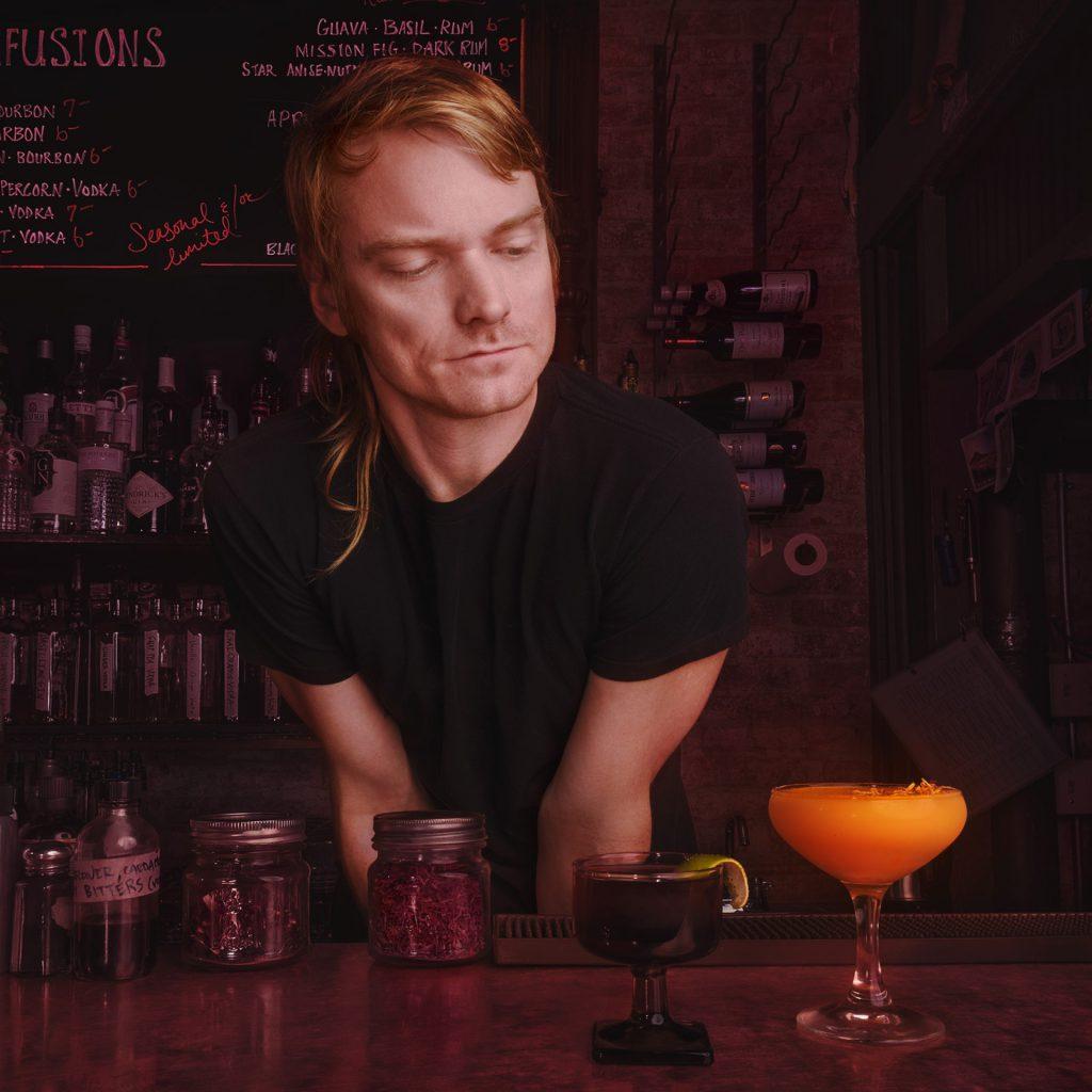 Dan Vee at Redlight bar