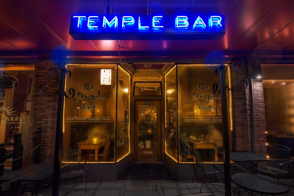 Front door of Temple Bar
