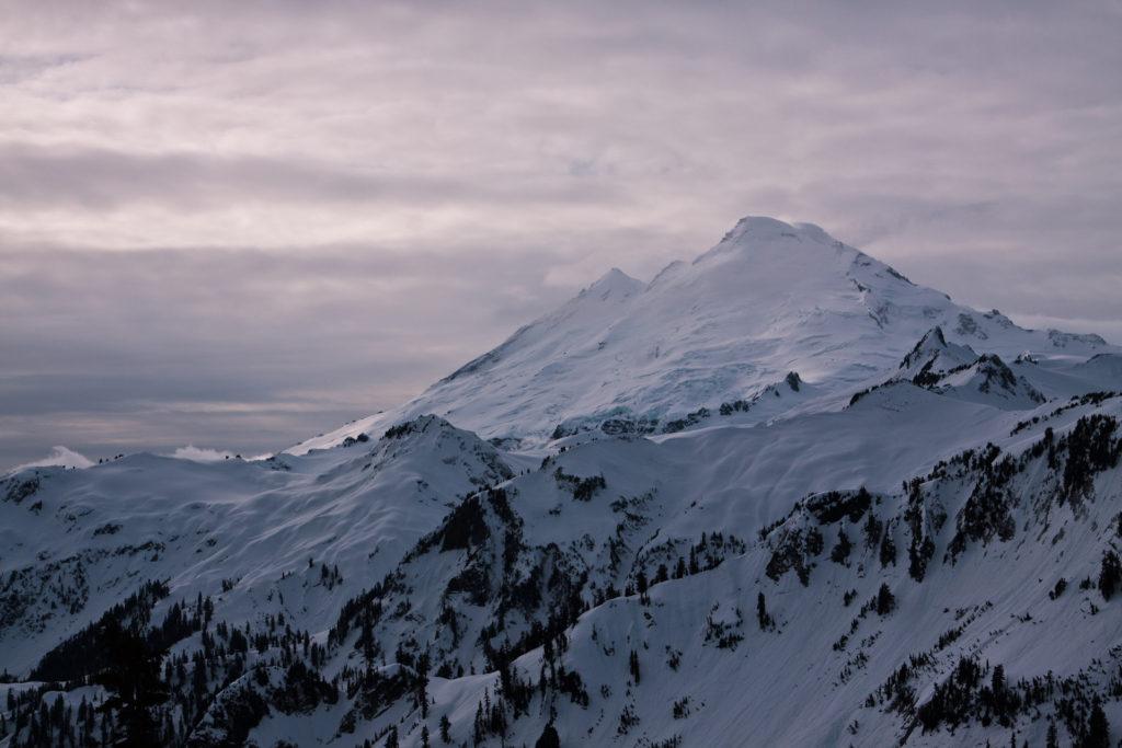 Mt. Baker in Winter