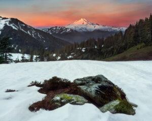 Dawn on Mt. Baker